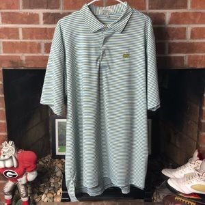 Peter Millar Masters Augusta National Polo Sz XXL
